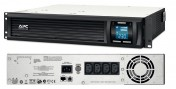 Smart-UPS C 1000VA 2U Rack mountable LCD 230V (SMC1000I-2U)