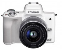 EOS M50 Kit EF-M 15-45mm IS STM (White)