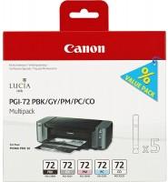 PGI-72 PBK/GY/PM/PC/CO Multi Pack 6403B007