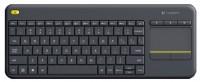Logitech Wireless Touch Keyboard K400 Plus Black (920-007147)