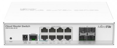 Cloud Router Switch [CRS112-8G-4S-IN]