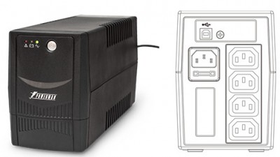 Back Pro 600I Plus (IEC320)