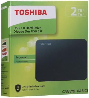 CANVIO BASICS 2TB (Black)