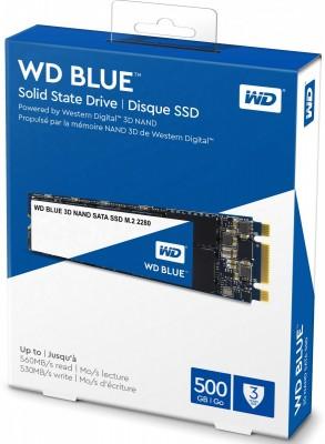 Blue 3D NAND 500GB WDS500G2B0B